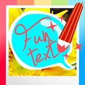 Funtext on Photo Free