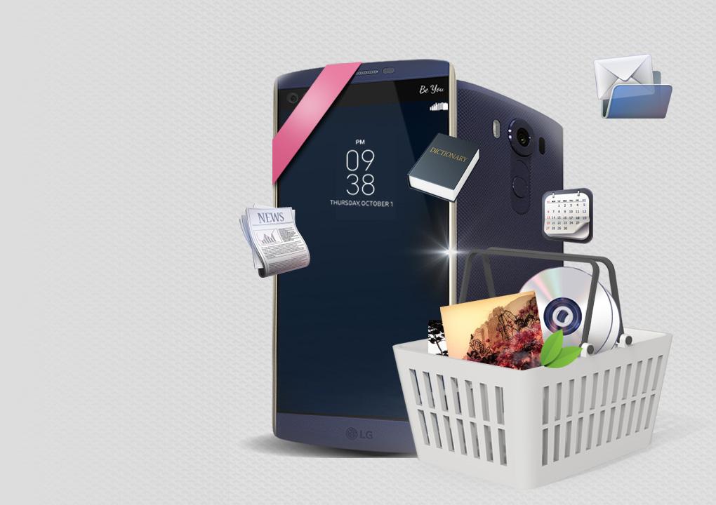 [سمارت ورلد يحصل محظوظ مع الجديد LG V10]